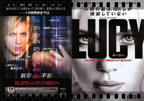 『LUCY ルーシー』あらすじ&ネタバレ考察・ストーリー解説