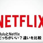 HuluとNetflix どっちがいい?違いを比較!